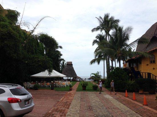 Las Cabañas del Capitán: Main Entrance Area