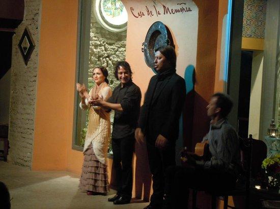 Casa de la Memoria : l'esibizione dei ballerini