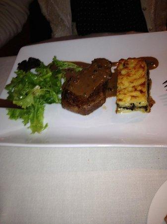 Clarion Hotel Chateau Belmont : Eccellente cena