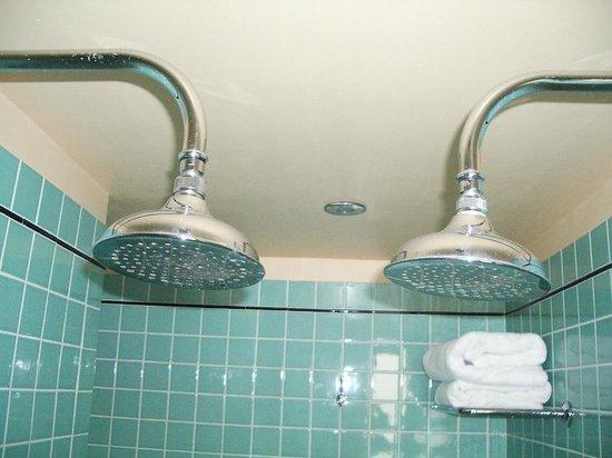 The Raleigh Miami Beach: Un baño de dos plazas, la ducha se hace inolvidable