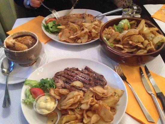 Le Relais Gascon: Large portions!