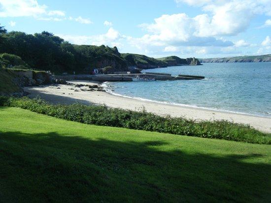 Caldey Island: Lovely beach on Caldey