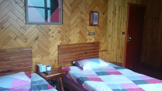 Baike Hotel: chambre panoramique
