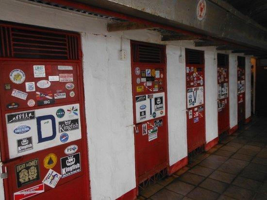 Truk Stop Hotel: Dive lockers