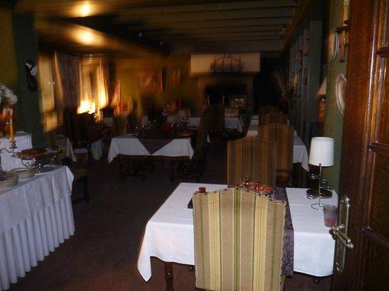 Hotel le France : la salle du restaurant