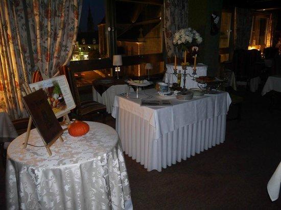 Hotel le France : le restaurant