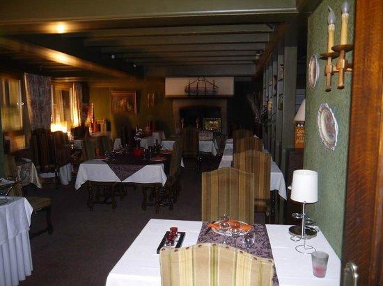 Hotel le France : vue du restaurant