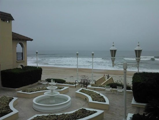 The Lodge and Club at Ponte Vedra Beach: View from the room at dusk.