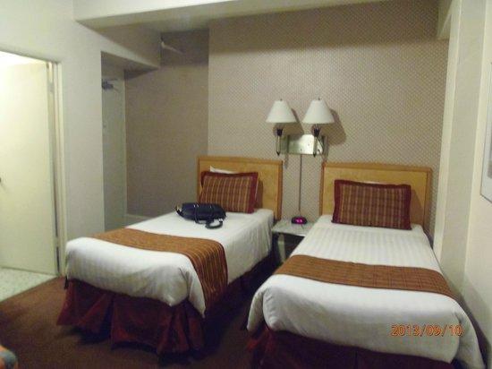 Grant Plaza Hotel: Habitacion