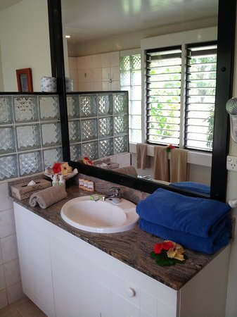 Musket Cove Island Resort: la salle de bain