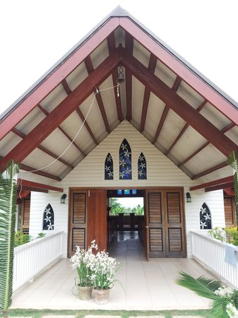Musket Cove Island Resort: la chapelle