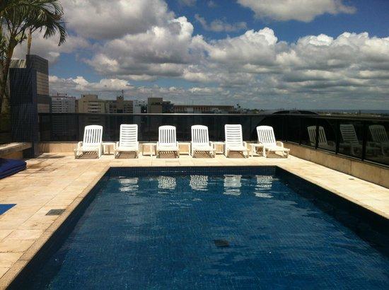 Metropolitan Flat : Piscina do Hotel Metropolitan, Brasília