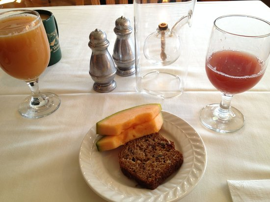 The Vermont Inn: Part of a breakfast meal.