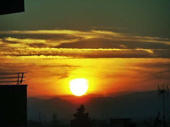 Hotel Sporting Rimini: Sunset