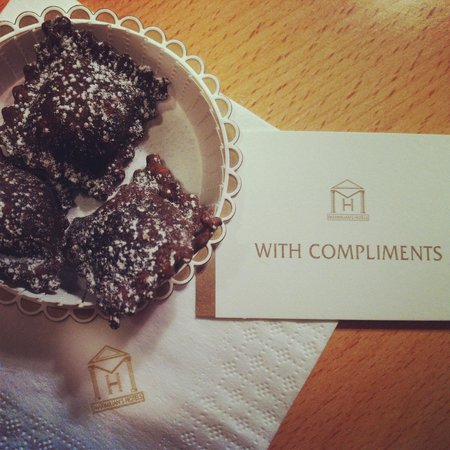 Hotel Sporting Rimini: Hotel's everyday delicate treat