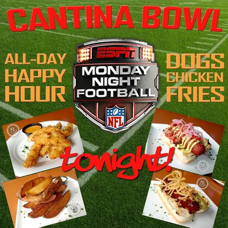 Red Mesa Cantina: Six large HD screens in our two bars!