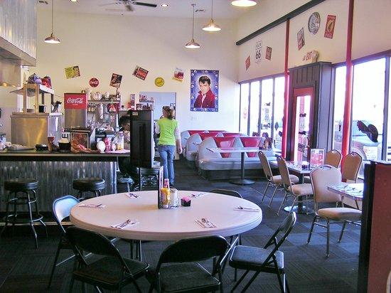 Dar's  Route 66 Diner : Interior, Dar's Rte. 66 Diner
