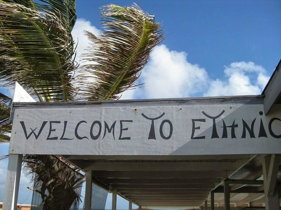 Ethnic Beach Bar Restaurant: You will be very welcome at Ethnic