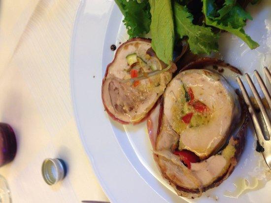 Ristorante La Valletta: Faraona ripiena di verdure