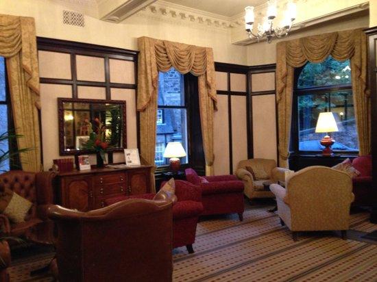 Parliament House Hotel: Im eingangsbereich