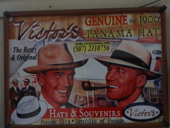 Spanish in the City - Panama City: Don´t forget to buy a Panama Hat!