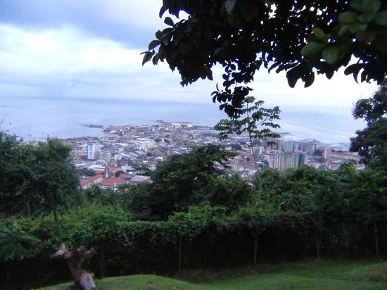 Spanish in the City - Panama City: Top of Cerro - Ancón - View of Casco Viejo