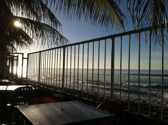 Punta Roca Surf Resort: a view from the deck