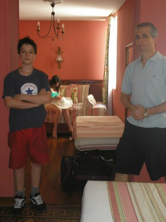 Hotel Abanico Sevilla: hab cuádruple