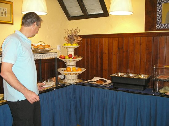 Hotel Abanico Sevilla: desayuno buffet
