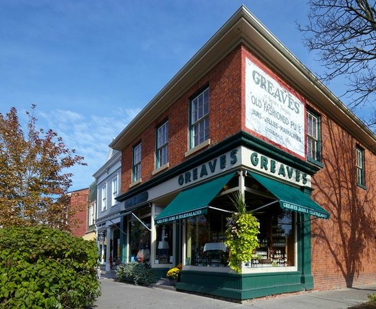 Greaves Jams Store in Niagara on the Lake