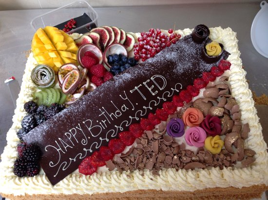 Teddington, UK: Birthday cake