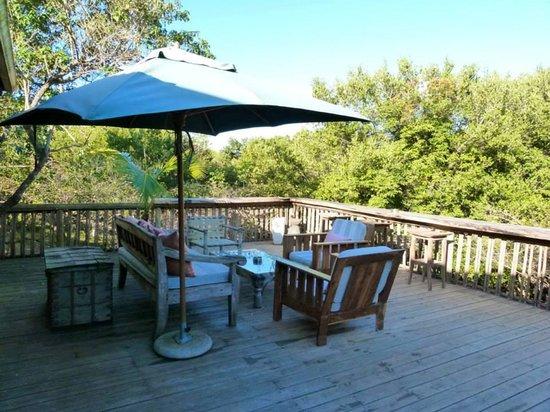 Wilderness Safaris Rocktail Camp : Place to get quiet time