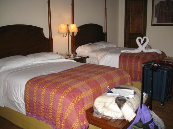 Porta Hotel Antigua: Our room