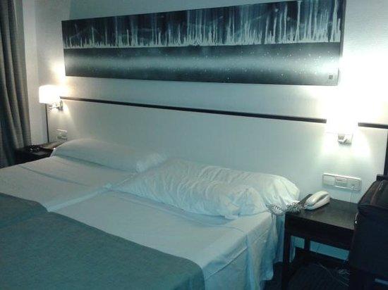 Hotel Macia Plaza : habitacion