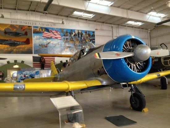Palm Springs Air Museum : Inside the European Theater Hangar
