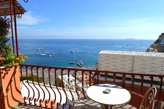 Hotel Buca di Bacco: Comfort DBL Room n. 27 w/partial sea view