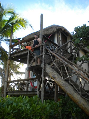 Amansala Eco Chic Resort: Eco chic tree house!