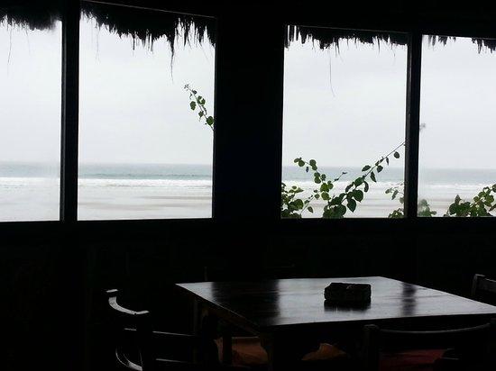 Cuna Luna Sea Lodge: merienda