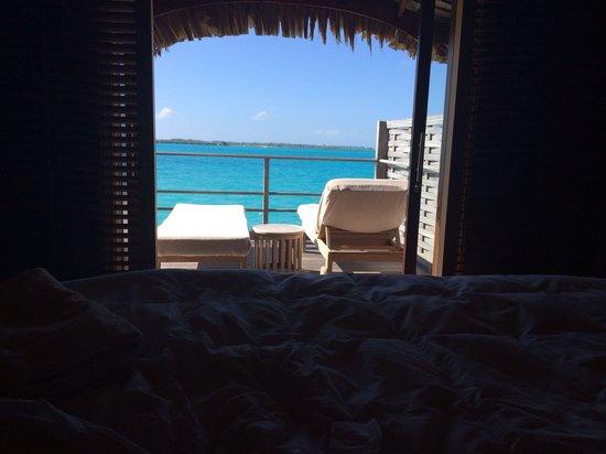 Four Seasons Resort Bora-Bora : View from bedroom