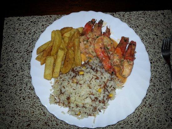 Cuna Luna Sea Lodge: comida