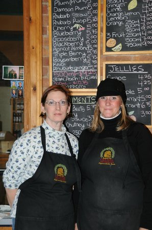 Greaves Jams : Krista (right) has been with us for over 23 years!