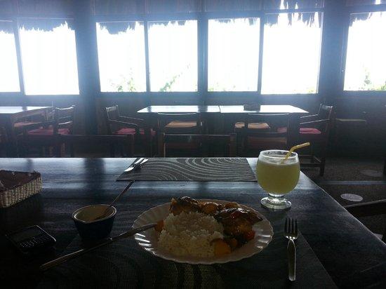 Cuna Luna Sea Lodge: desayuno