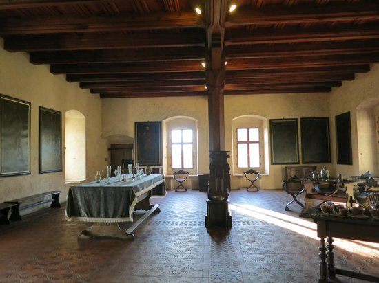 Karlstejn Castle: Зал для рыцарских пиршеств