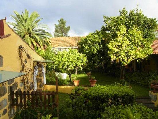 Hotel Rural Las Calas: Garten