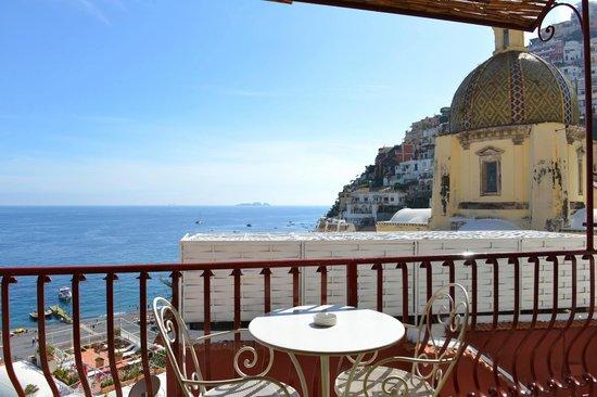 Hotel Buca di Bacco: Comfort DBL Room n. 27 w/partial sea view