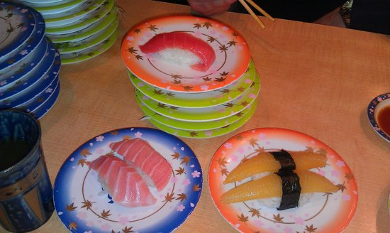 Sushi-Go-Round (Kaitensushi) Sakana Isshin Lafiler