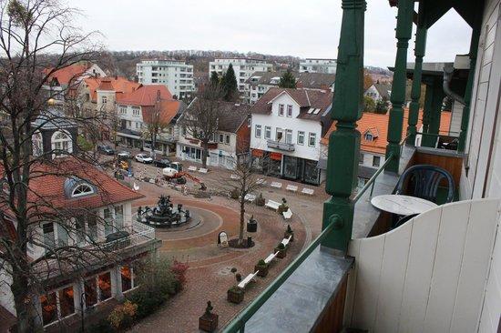 Hotel Victoria: Blick aus dem Fenster