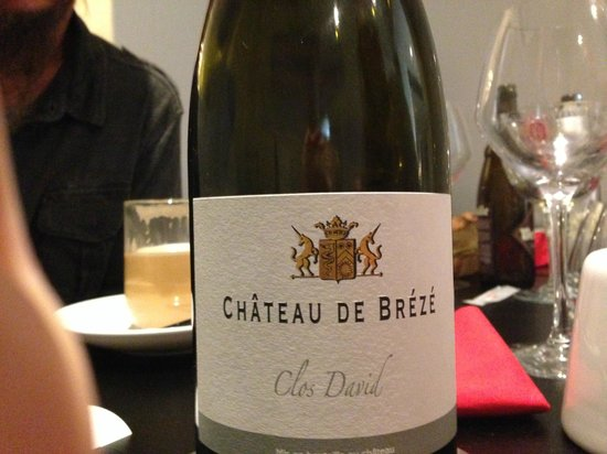 keating Steak And Wine House : Another great local Saumur wine