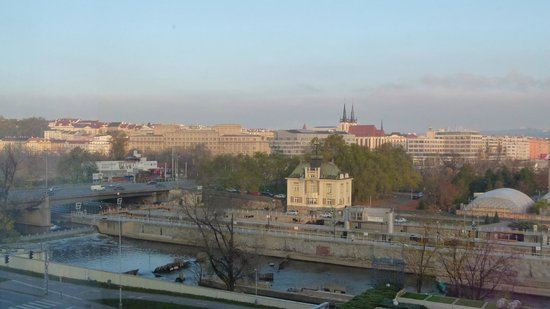 Hilton Prague: View from our room