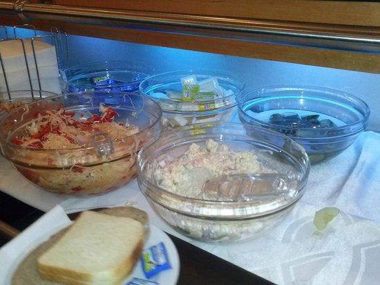 BEST WESTERN Amedia Praha: Petit déjeuner...